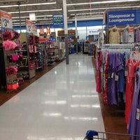 Photo taken at Walmart Supercenter by Кэт Б. on 1/25/2013