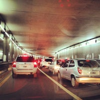 Photo taken at Tunel Av. Libertador by Diego S. on 4/28/2013