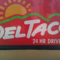 Photo taken at Del Taco by Michael W. on 10/13/2012