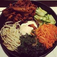 Photo taken at CHAM Korean Bistro by Melanie N. on 2/6/2014