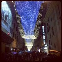 Photo taken at Via del Corso by Rosa Cinzia R. on 1/1/2013