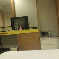 Photo taken at Baramee Hip Hotel Phuket by Ruslan K. on 1/28/2013