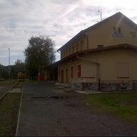 Photo taken at Železniční stanice Stará Role by Tomas L. on 10/6/2012
