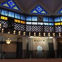 Photo taken at Masjid Negara (National Mosque) by Syahid B. on 12/8/2012