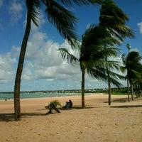 Photo taken at Praia de Tambaú by Jaymison F. on 4/25/2013