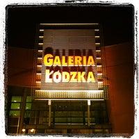Photo taken at Galeria Łódzka by Caner G. on 10/8/2012