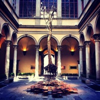 Photo taken at Palazzo Strozzi by Caner G. on 6/1/2013