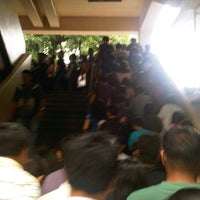 Photo taken at Yellow Line - Quezon Avenue Station by Ceejay d. on 9/14/2012