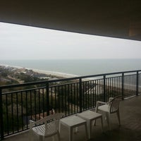 Photo taken at Grande Shores Ocean Resort by David K. on 3/23/2013