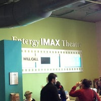 Photo taken at Entergy IMAX Theater by TK L. on 2/16/2013