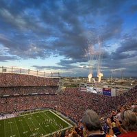 Photo taken at Sports Authority Field at Mile High by Udi's Gluten Free on 10/5/2012