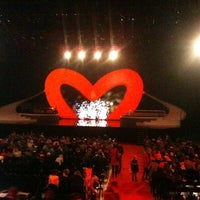 Photo taken at Lotto Arena by Charlotte V. on 12/26/2012