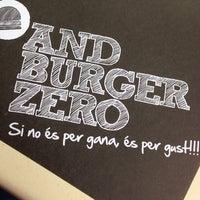 Photo taken at AndBurgerZero by Xavi.S on 10/1/2013