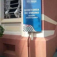 Photo taken at Diretoria de Ensino Regional de Araraquara by William B. on 2/14/2014