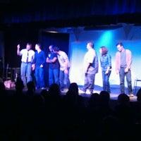 Photo taken at SAK Comedy Lab by Jimmy C. on 10/26/2012