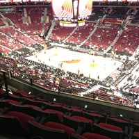 Photo taken at Moda Center at The Rose Quarter by Clara H. on 11/9/2012