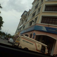 Photo taken at Celcom Ipoh Branch by pendita s. on 1/25/2013