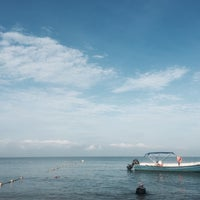 Photo taken at Port Dickson Beach by Eykin A. on 7/23/2016