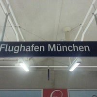 Photo taken at S Flughafen München by Meisterschale on 7/10/2013