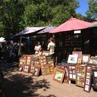 Photo taken at Glebe Markets by Cornelius H. on 3/30/2013