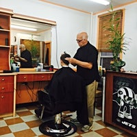 Photo taken at Astoria Barbers by Robert R. on 9/26/2014