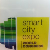 Photo taken at Smart City Expo by Raquel R. on 11/13/2012