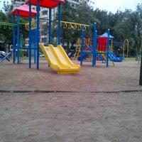Photo taken at Plaza Eusebio Lillo by Ignacio G. on 12/19/2012