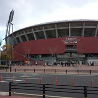 Photo taken at MAZDA Zoom-Zoom Stadium Hiroshima by F14A10rqlY y. on 1/4/2013