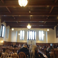Photo taken at South Dining Hall by Christopher A. on 4/16/2013