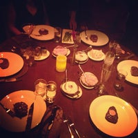 Photo taken at Brand Steakhouse & Lounge by Jenny V. on 5/18/2013