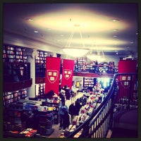 Photo taken at Harvard Coop Society Bookstore by Ezgi Y. on 4/4/2013