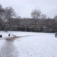 Photo taken at Grosvenor Square by Darren M. on 1/21/2013