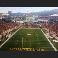 Photo taken at Heinz Field by Ashley on 10/20/2013