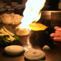 Photo taken at Sushi Axiom by Sarah A. on 12/20/2012