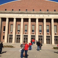Photo taken at NU Coliseum by Joy C. on 10/28/2012