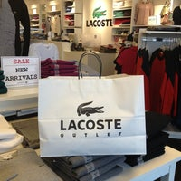 Photo taken at Lacoste Outlet by J.a. L. on 1/8/2013