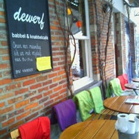 Photo taken at De Werf by Lien W. on 1/14/2013
