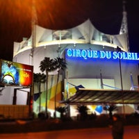 Photo taken at La Nouba by Cirque du Soleil by Leonardo C. on 3/10/2013