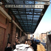 Photo taken at Chelsea Market by Daniel L. on 4/5/2013