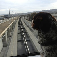 Photo taken at SFO AirTrain Station by Bil B. on 3/18/2013