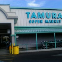 Photo taken at Tamura Super Market by Robert E. on 12/24/2012