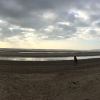 Photo taken at Camber Sands Beach by Hazuk D. on 11/11/2016