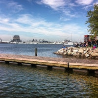 Photo taken at Canton Waterfront Park by Ben M. on 5/4/2013