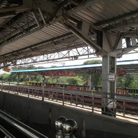 Photo taken at Tiruslam Railway Station by Naveen S. on 2/5/2013