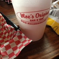 Photo taken at Moe's Original BBQ by Edmond Heath B. on 12/4/2012