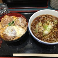 Photo taken at 小諸そば 九段下店 by SALLY on 1/25/2015