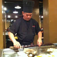 Photo taken at Osaka Hibachi Grill & Sushi Bar by Thad A. on 11/20/2012