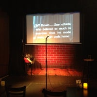 Photo taken at Flappers Comedy Club by Chelsea M. on 1/11/2013