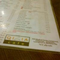 Photo taken at Qizia Cafe by juday c. on 10/5/2012