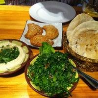 Photo taken at Yalla Yalla by Johnny K. on 10/25/2012
